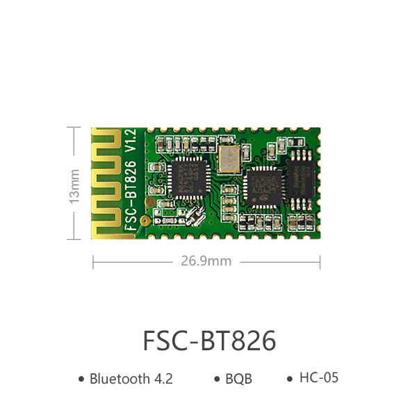 블루투스HC-05대체용 Bluetooth Module | FSC-BT826