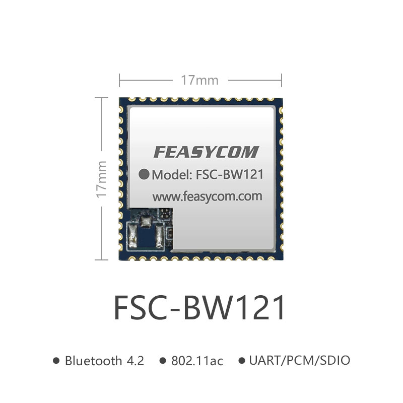 Bluetooth WIFI Combo RF Module SDIO Interface Module | FSC-BW121
